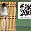 Ver la carta del restaurante con codigo QR