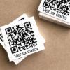 Adhesivo en PVC con código QR